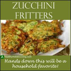 If you have never tried zucchini fritters you are really missing out and my dill…