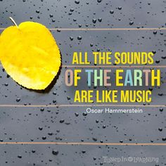 all the sounds of the earth are like music - Google Search
