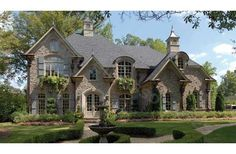Someday... If I win the lottery.  Party at the Chateau!  So much personality!!!