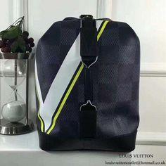 72999f9c19e86 Louis Vuitton N44012 Sac Marin Backpack Damier Cobalt Canvas   Louisvuittonhandbags