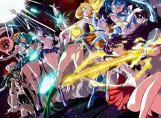 Sailor Senshi ☿ ♀ ♂ ♃ ⛢ ♆ ♇ ♄