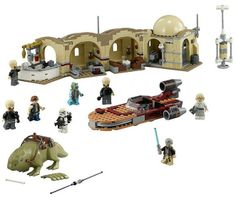 The Lego Star Wars Mos Eisley Cantina - a great selection of Lego construction sets at Wonderland Models. http://www.wonderlandmodels.com/products/lego-star-wars-mos-eisley-cantina/