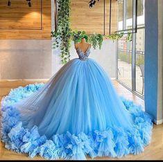 Pretty Quinceanera Dresses, Pretty Prom Dresses, Elegant Dresses, Beautiful Dresses, Wedding Dresses, Ball Gowns Prom, Ball Gown Dresses, 15 Dresses, Evening Dresses