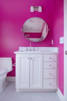 Kid's bathroom by Profile Cabinet and Design.