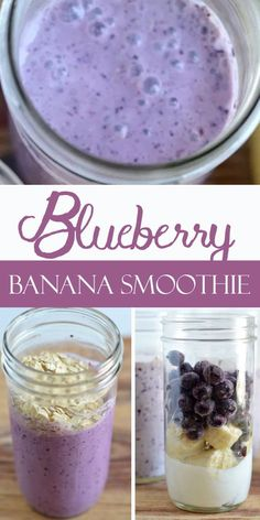 Blueberry Banana Smoothie Recipe that very delicious. Please find detail and ste. - Blueberry Banana Smoothie Recipe that very delicious. Please find detail and step to make this deli - Healthy Smoothie, Fruit Smoothie Recipes, Yummy Smoothies, Diabetic Smoothie Recipes, Healthy Drinks, Healthy Morning Smoothies, Freezer Smoothies, Smoothies With Almond Milk, Fruit Snacks