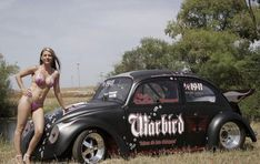 Mostly Black Volkswagen Beetles: Photo You are in the right place about japanese Racing Girl Here we Trucks And Girls, Car Girls, Up Auto, Kdf Wagen, Vw Vintage, Vw Cars, Vw Beetles, Sexy Cars, Cars And Motorcycles