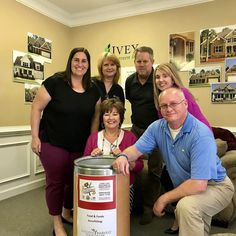 The Ivey team along with Hull Barrett attorneys kicked off their 10-day Food Frenzy yesterday! Help the hungry in our area by donating at the Ivey main office or model homes!  #iveyhomes #givingback #fooddrive #teamwork #teamspirit Ivey Homes is a local Augusta GA home builder. Homes from the Low $100's to custom.