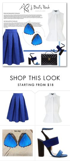 """""""J. Bird's Perch"""" by amra-mak ❤ liked on Polyvore featuring Alexander Wang, Paul Andrew, Chanel, women's clothing, women's fashion, women, female, woman, misses and juniors"""