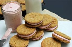 Peanut Butter & Jelly Sandwich Cookies @Matthew Price Homemade