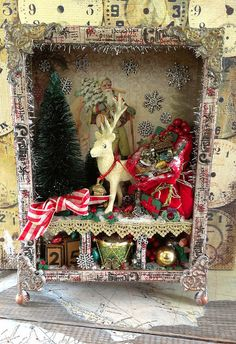 Christmas Assemblage