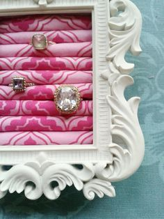 Princess Ring Display via Dainty Boutique. Click on the image to see more!