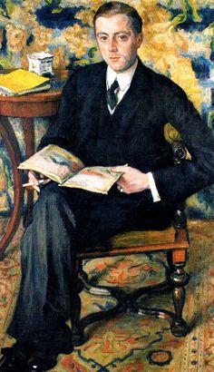 Portrait of Wojciech Biesiadecki 1909 Jozef Pankiewicz