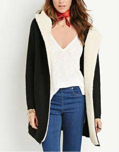 Forever 21 vegan shearling coat