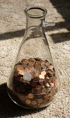 Millford Man Pays Off Mortgage with 800 lbs. of Pennies.  How many trips from the car to the bank would you have to make?
