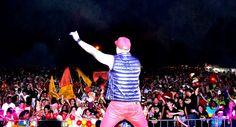 Netinho em 2013 no seu show no Carnaval de Aruanã/GO.
