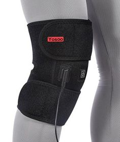 b84aa30402 Adjustable wraparound bnee brace with two stick straps (instead of a single  pad) on