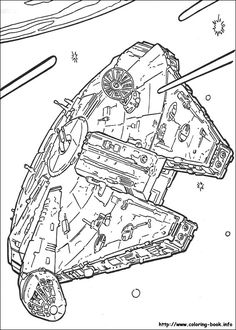 Star Wars coloring picture
