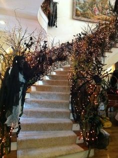 Halloween traditional-staircase