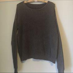 Brandy Melville Sweaters - Grey Ollie sweater BM