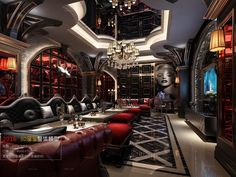 Chill Out Room, Public Space Design, The Jacksons, Cafe Bar, Home Theater, Karaoke, Restaurant Bar, Art Deco, House Design