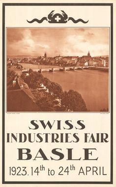 At. Wehrli AG, Schweizer Mustermesse Basel, 1923