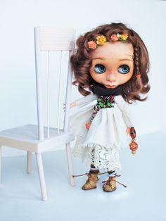 OOAK Blythe Miss Flower by prodolls on Etsy