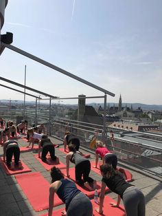 Yoga im Zeichen der vier Elemente. #rooftopyoga Wellness, Austria, Zen, Meditation