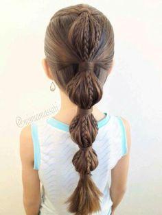 Peinado bonito!