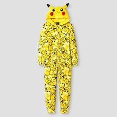 Pokemon Boys' Blanket Sleeper - Yellow