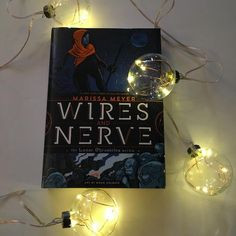 "Our Book Date of the week is Marissa Meyer's WIRES AND NERVE, a graphic novel companion to her ""Lunar Chronicles"" series."