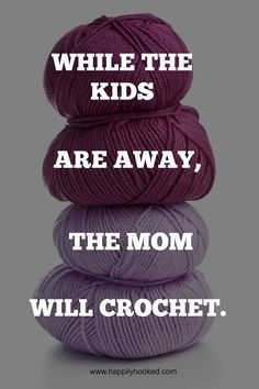:D it's the best time to crochet!