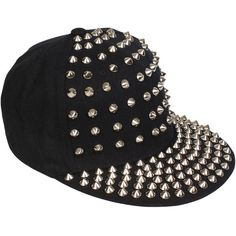 Stud Cap 70048 ($76) ❤ liked on Polyvore