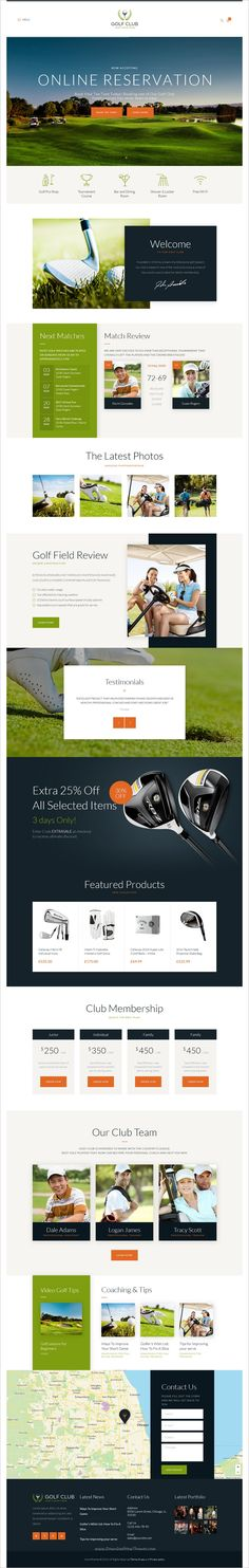Golf club is a wonderful responsive #HTML template for #golf #sports and #events website download now➩ https://themeforest.net/item/golf-club-sports-events-site-template/18832259?ref=Datasata