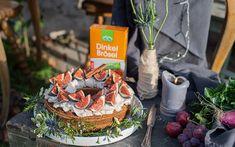 Schoko Feigen Kuchen mit LAND-LEBEN Dinkel Semmelbrösel und Zimt Creme, Cake Batter, Figs, Cinnamon, Bakken, Recipies
