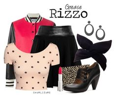 """Rizzo"" by charlizard ❤ liked on Polyvore featuring Moschino, Milly, H&M, Givenchy, Crown Vintage, Swarovski and vintage"
