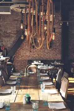 Searsucker in San Diego. Delicious! #decor #table #kitchen