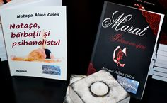 "Books: ""Marat. Love has thorns"" and ""Natasha, the men, and the psychoanalyst"". Author/ Writer Natasa Alina Culea (Romania, Bucharest). Romance/Fiction/Chick Lit Carti scrise de Natasa Alina Culea (scriitor roman contemporan): ""Natasa, barbatii si psihanalistul"" si ""Marat. Iubirea are spini"". Gen: Romance/Fictiune/Chick Lit Romania, Bucuresti 2015"
