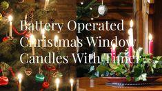 New christmas window candles ideas at temasistemi.net