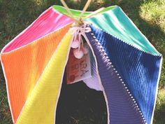 Crochet Toddler Teepee