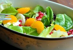 Good Health: Pomegranate Green Salad