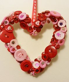 Chic and very cute heart garland on Etsy, $6.50
