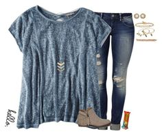 """""""•I really do love you•"""" by mgpayne10 ❤ liked on Polyvore featuring Mavi, American Eagle Outfitters, Abercrombie & Fitch, Madewell, Kendra Scott, Hoorsenbuhs, Alex and Ani, J.Crew, women's clothing and women's fashion"""