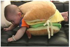 People! For the love of God, quit disguising your children as food items! It's creepy!