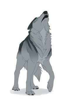 Wolves / Gray, blue-eyed wolf / (Batiatus by Naviira.deviantart.com on @DeviantArt)