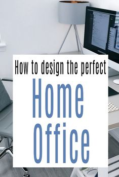 Do you work from home these days?  If you do and you are in need of the perfect home office then look fno further. These top tips with help you with the desgn and decor of a home office that will work for you and look good too #homeoffice #officedecor  #officedesign #workathome