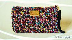 Aprendiz de Crocheteiras: Carteira de Crochê com Malha - Hits 80