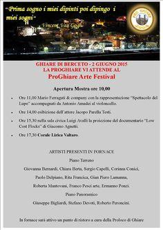 2 giugno 2015 - PRO Ghiare Arte Festival