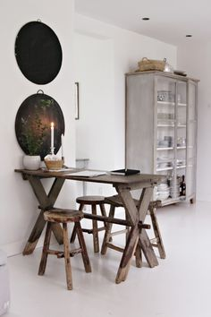 Cool colors 21 Elegant Dining Room Design Ideas my scandinavian home: The pretty Danish home of Tine K Sweet Home, Deco Design, Design Design, Scandinavian Home, Home Interior, Danish Interior, Natural Interior, Home Decor Inspiration, Home Kitchens