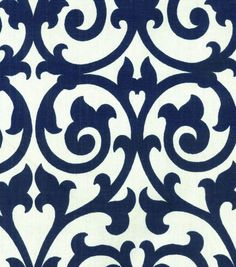 Swavelle Mill Creek Home Decor Print Fabric-Nautical