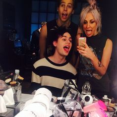 Luke, Michael, and LOU!!!!!!!!! :)